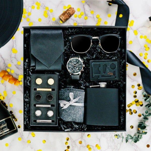 Men's Gift Box Complete Men's Gift Set Men's | Etsy | Gift box for men, Luxury gifts for men, Groomsmen gift box