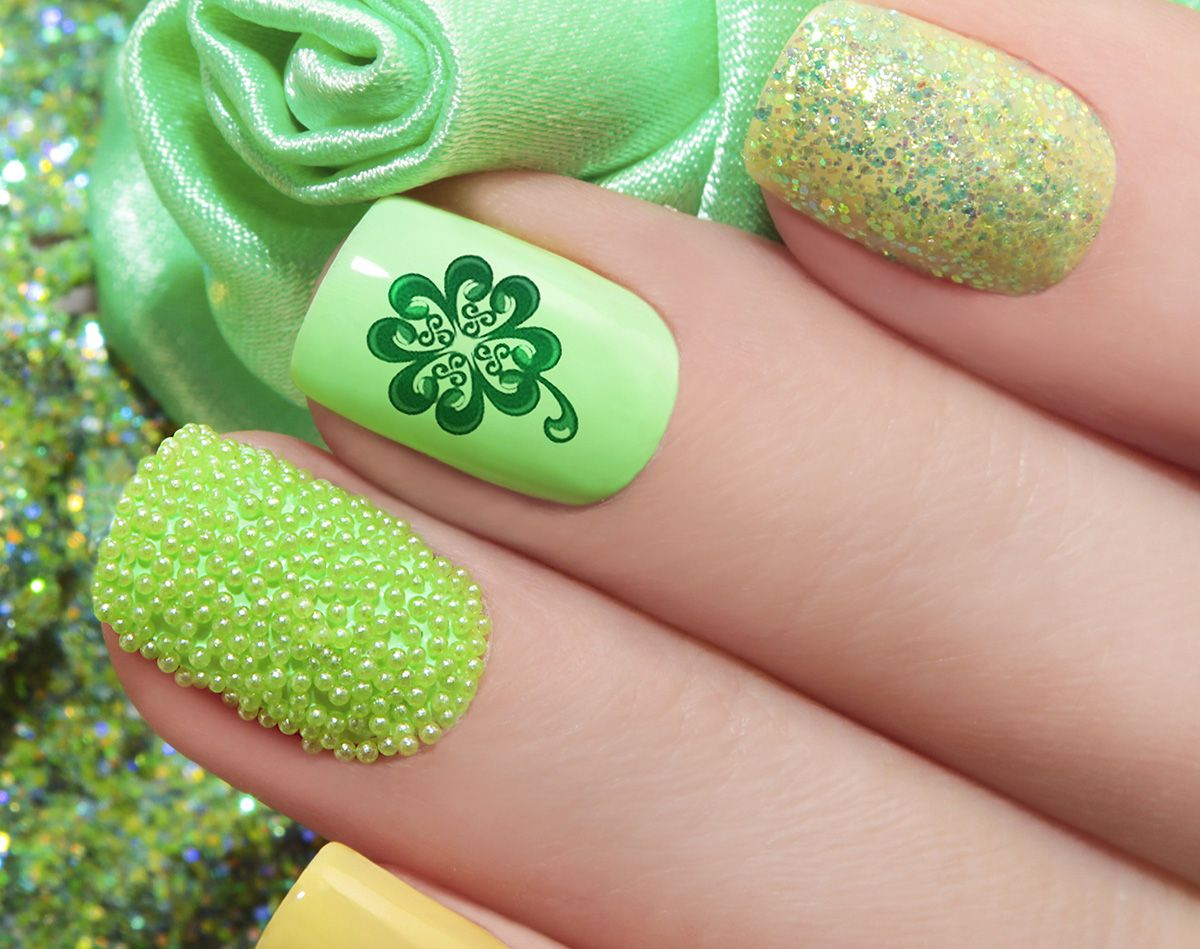 St. Patrick\'s Day Nail Art Decals #2