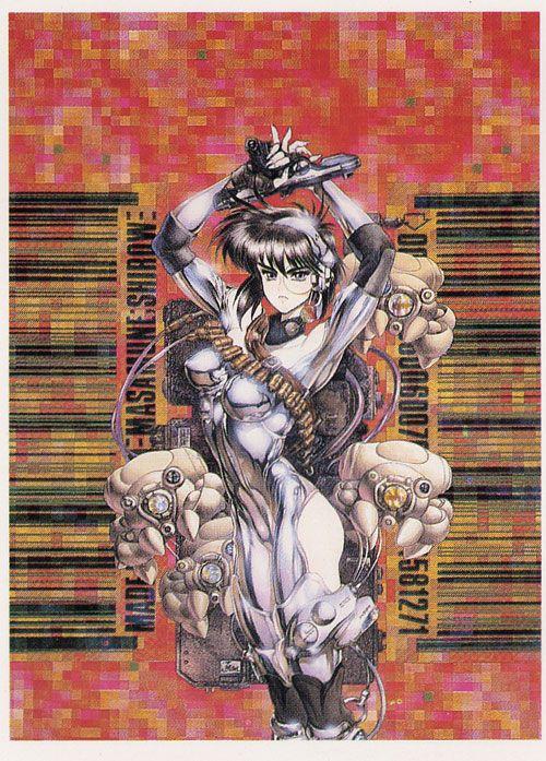 Ghost In The Shell Major Kusanagi Masamune Shirow Anime Poster #2