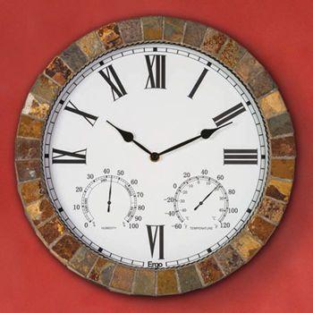 Marmora Outdoor Clock Large Outdoor Wall Clock Outdoor Clock Outdoor Wall Clocks