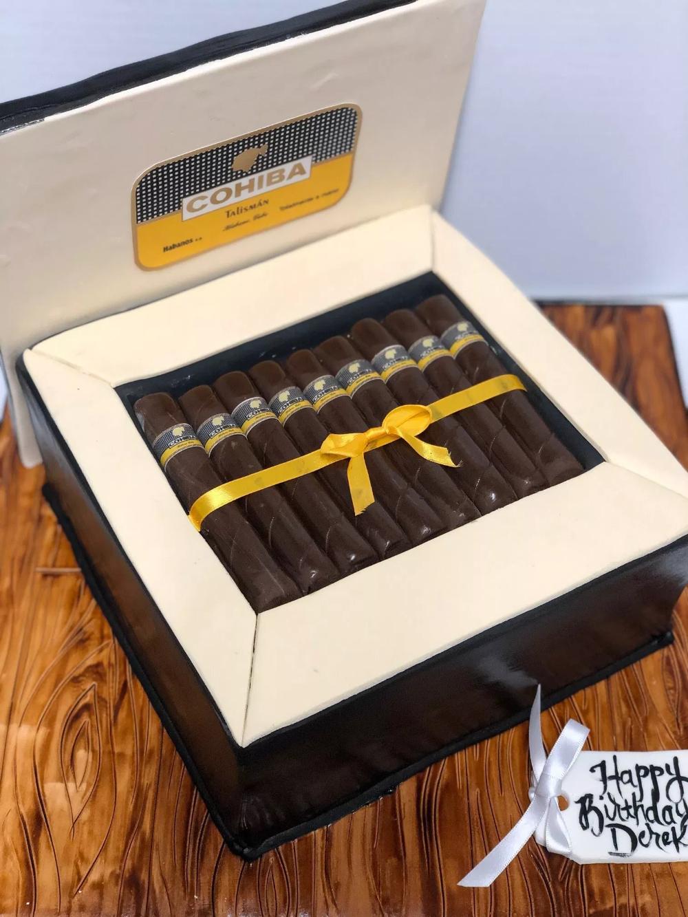 Cigar Box Cake Confection Perfection Cakes
