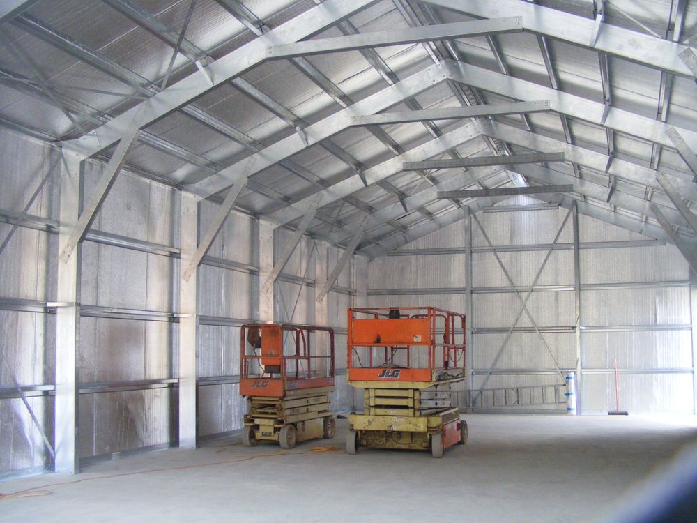 Details About 38 X 60 Insulated Steel Garage Shop Building