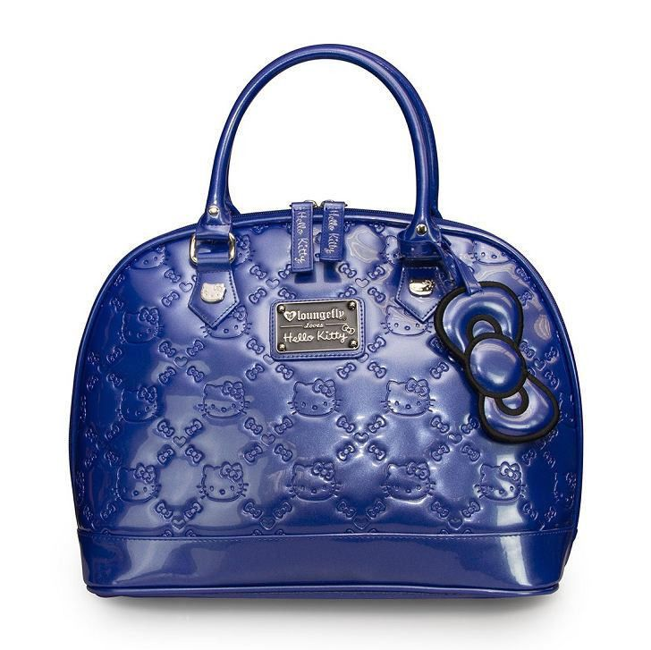 21757d3220 LOUNGEFLY HELLO KITTY TRUE BLUE EMBOSSED TOTE BAG ( Brand New )  LoungeFly   TotesShoppers