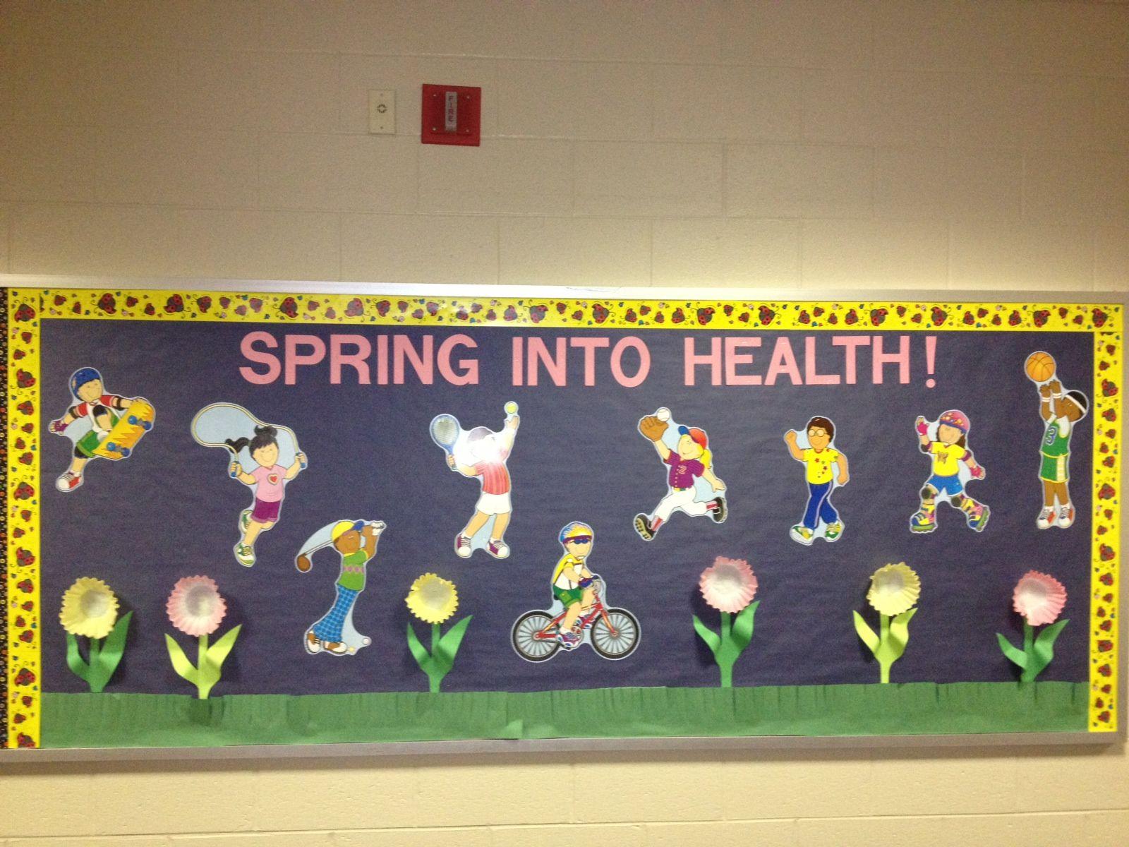 office bulletin board ideas pinterest. Spring Into Health   School Nurses Office Decorating Ideas Pinterest. Bulletin BoardsOffice Board Pinterest