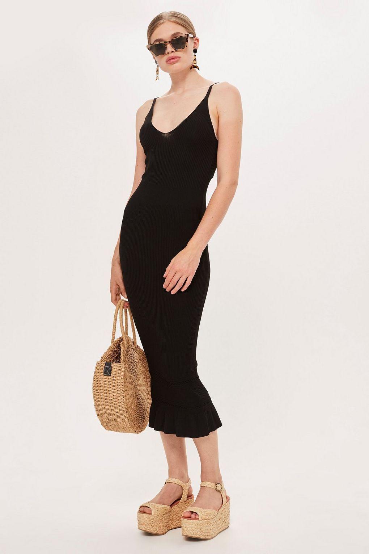 Strappy Midi Dress Topshop Strappy Midi Dress Midi Dress Dresses [ 1530 x 1020 Pixel ]