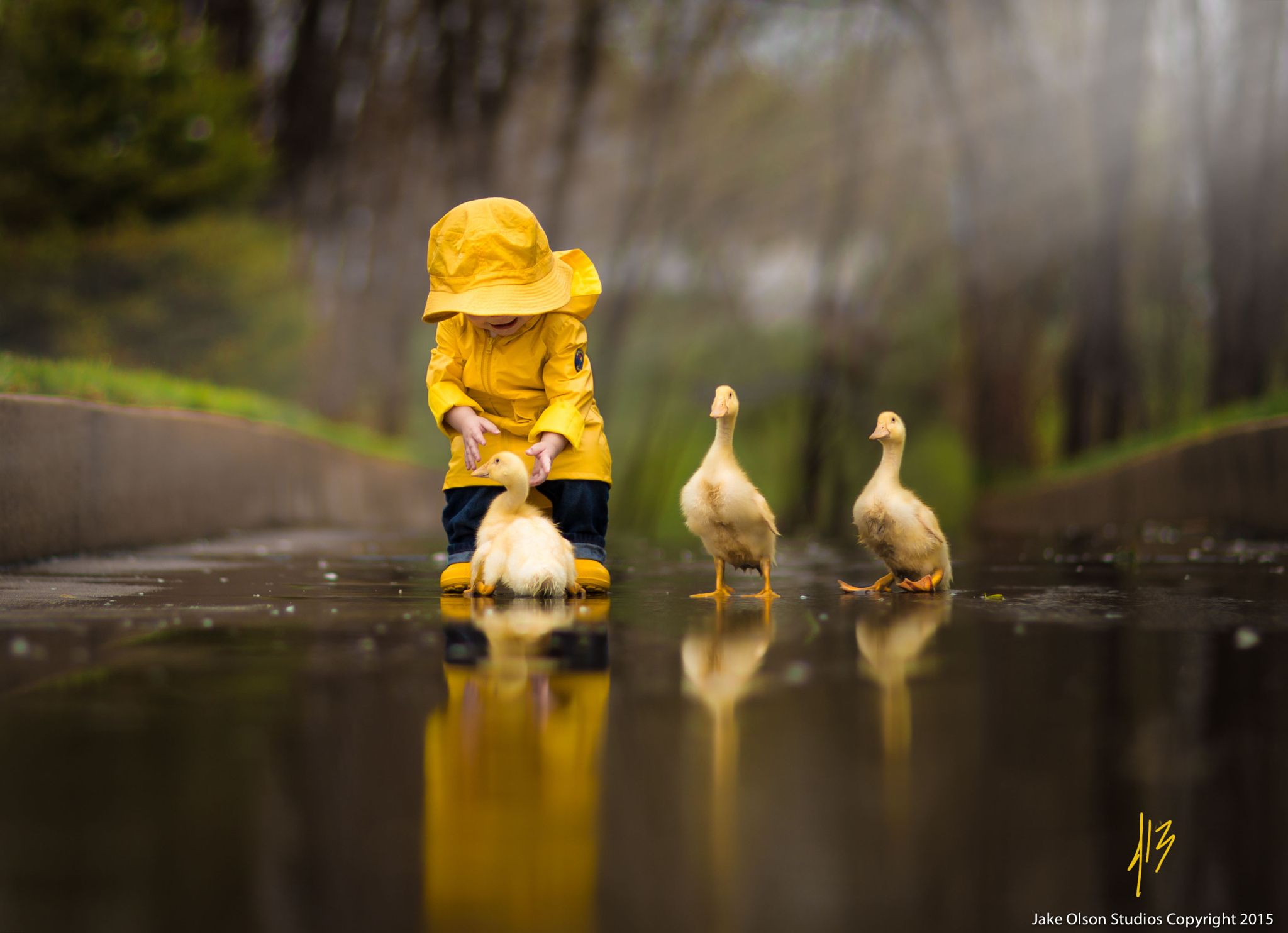 Rainy Day Friends By Jake Olson Studios On 500px Cute