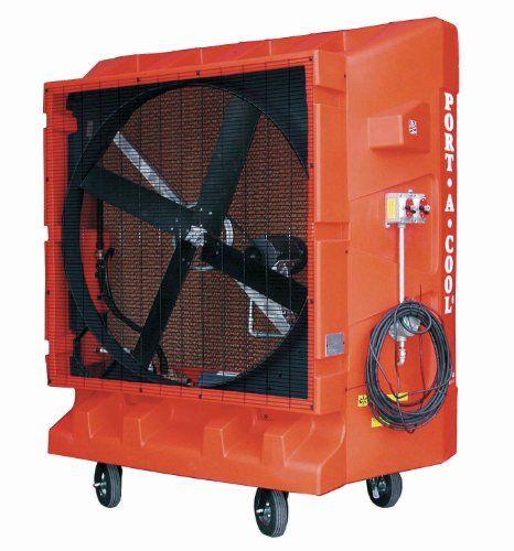 Port A Cool Pac2k48hz Hazardous Location Portable Evaporative Cooling Unit 48 Inch 17000 Cfm 4000 Squa Evaporative Cooler Portable Air Cooler Cooler Designs