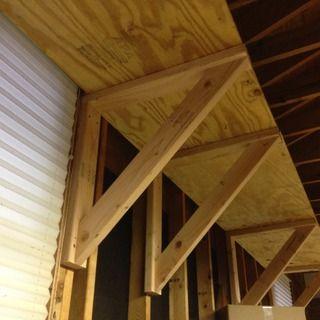 Heavy Duty Shelf Brackets Diy Storage Shelves Garage