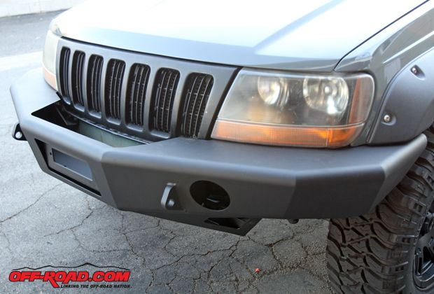 Trail Ready Jeep Grand Cherokee Wj Front Bumper Install Jeep