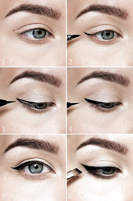 10 Step By Step Eyeliner Tutorials For Beginners Makeup