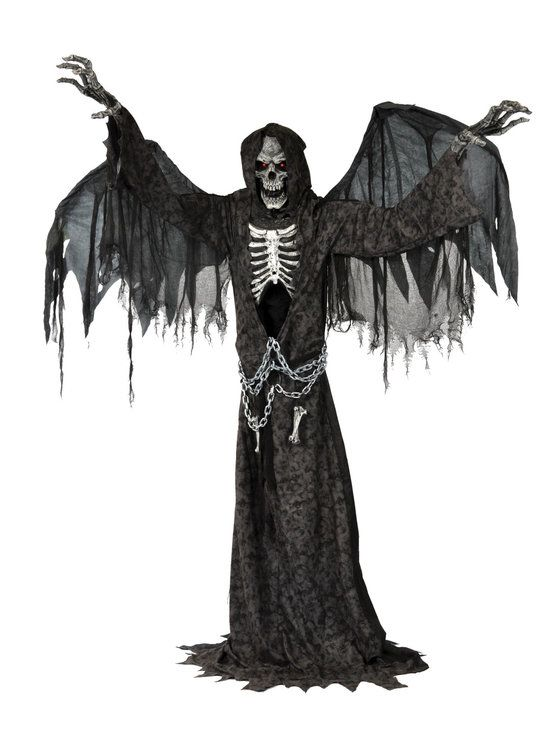 Angel Of Death Animated Prop Halloween Pinterest Animated - scary halloween props