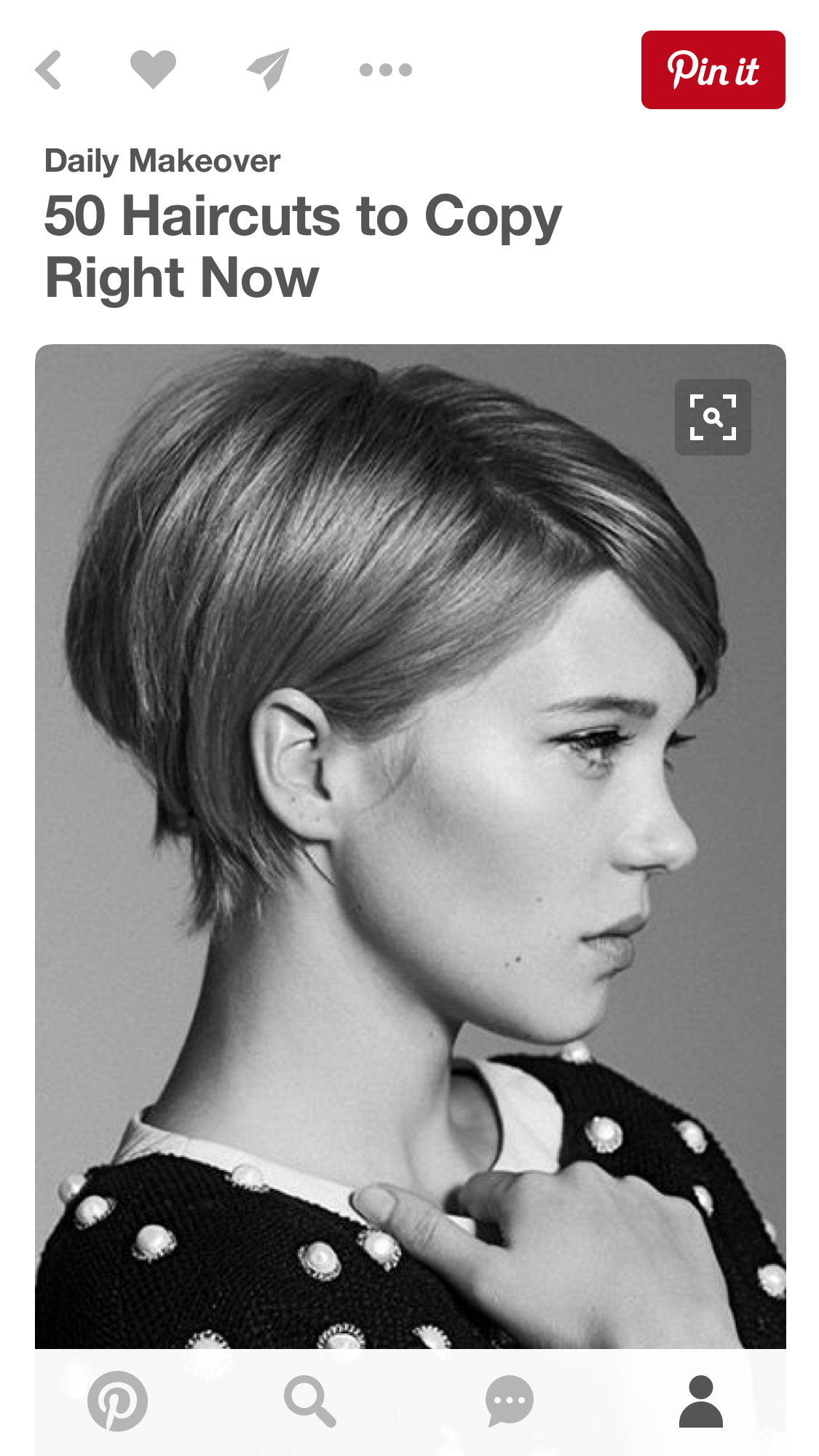 short hair behind ears | short behind-the-ear hairstyles