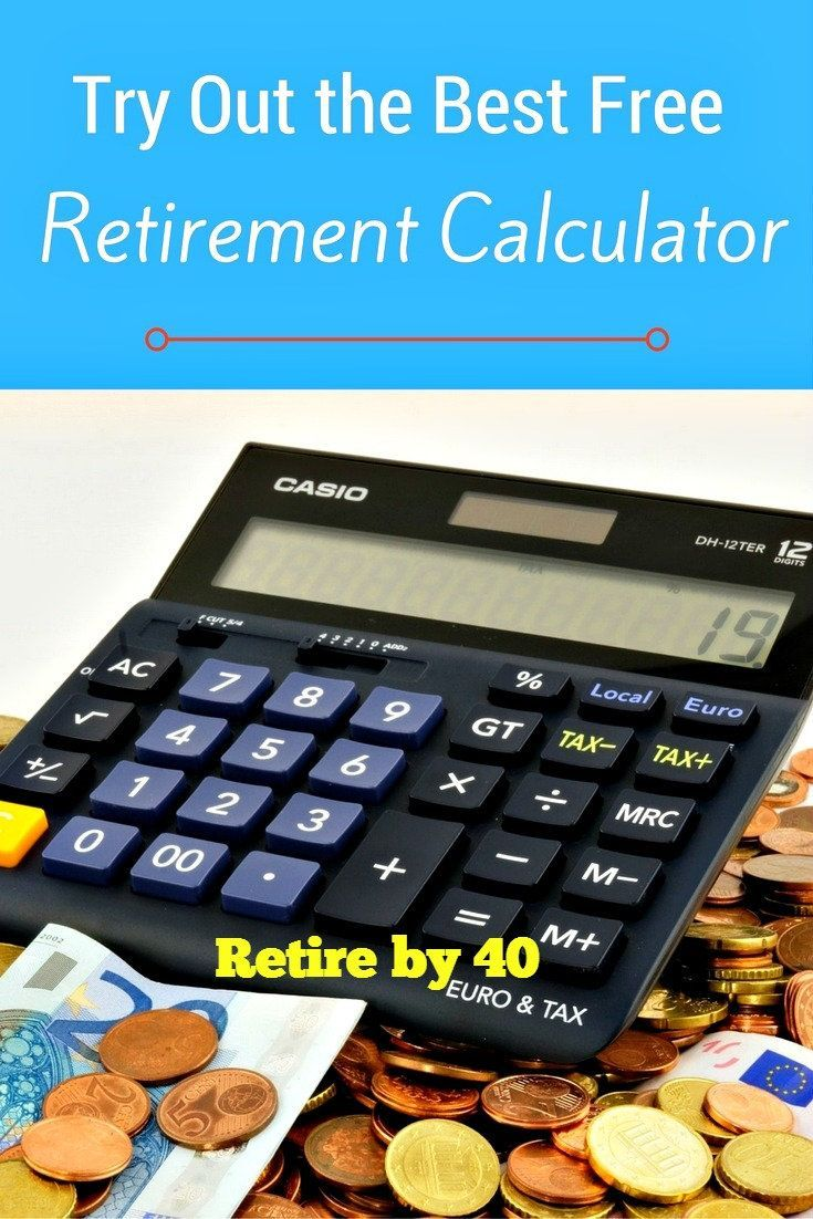 the best free retirement calculator best investments pinterest