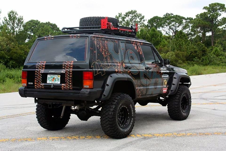 1996 Jeep Cherokee Xj Wrap A1a Sign Wave Jeep Cherokee Jeep
