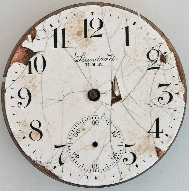 Versatile image intended for printable clock faces for crafts