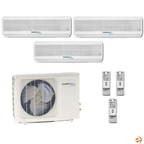 Cmo28b 4 Cmi09b Cmi12bx2 Tri Zone Wall Mounted Mini Split Heat Pump By Comfortstar 3310 Commercial Heating Ductless Mini Split Heating And Air Conditioning