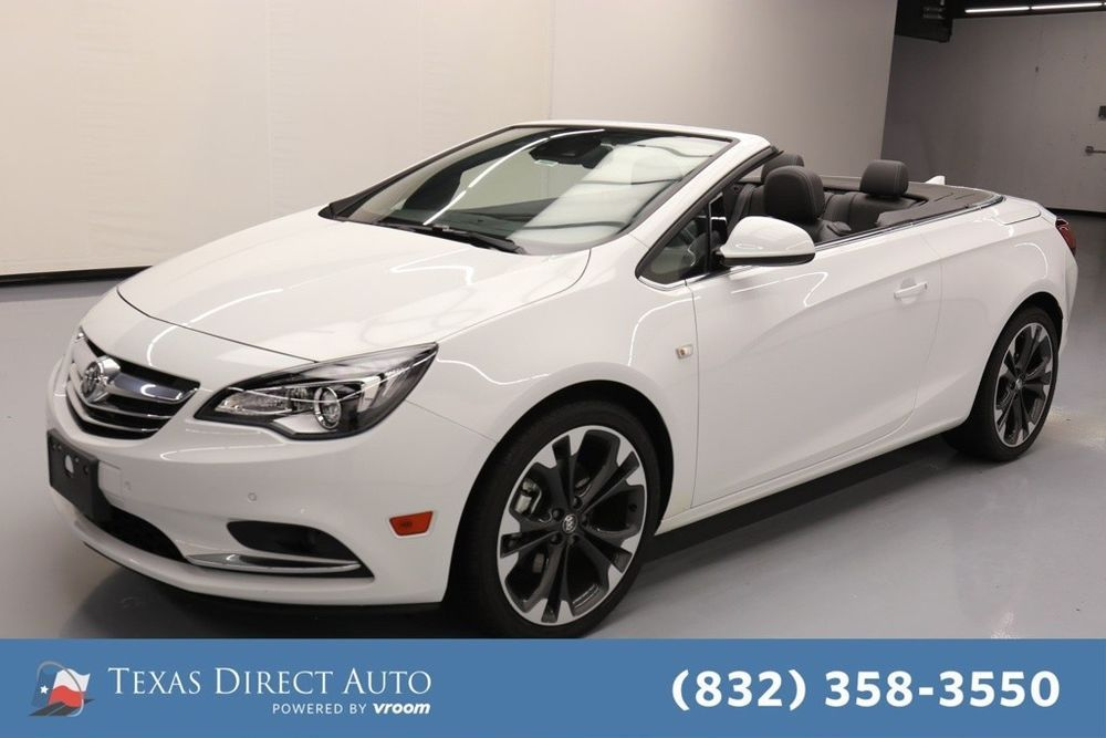 For Sale 2018 Buick Cascada Premium Texas Direct Auto 2018 Premium Used Turbo 1 6l I4 16v Automatic Fwd Convertible Buick Cascada Buick 20 Inch Wheels
