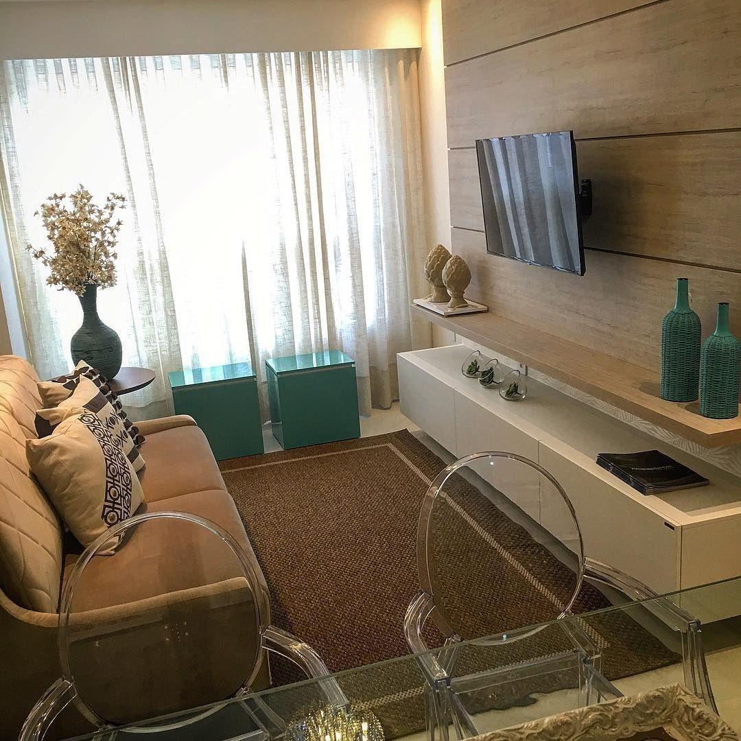 70 ideias de salas pequenas decoradas e lindas para se inspirar ...