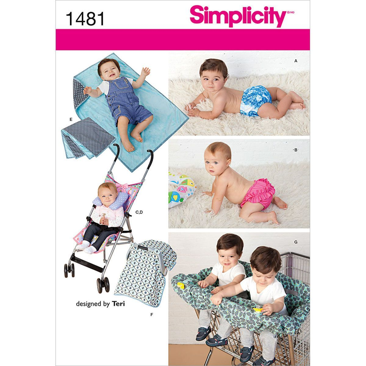 Simplicity Pattern 1481A All Sizes - Crafts Crafts