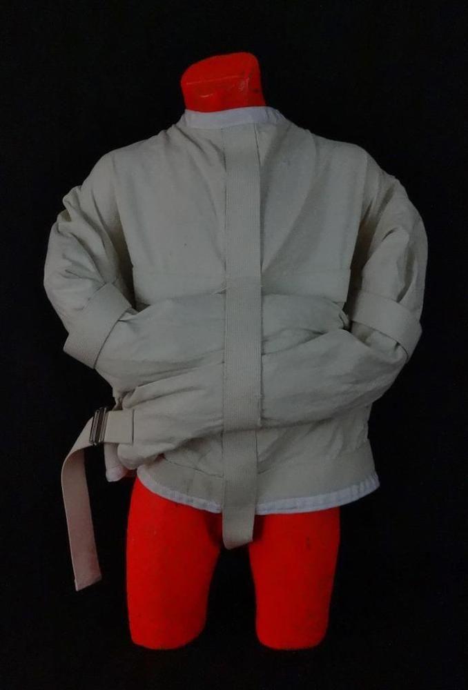 Awesome Vintage Straight Jacket Halloween Costume?? | Straight jacket