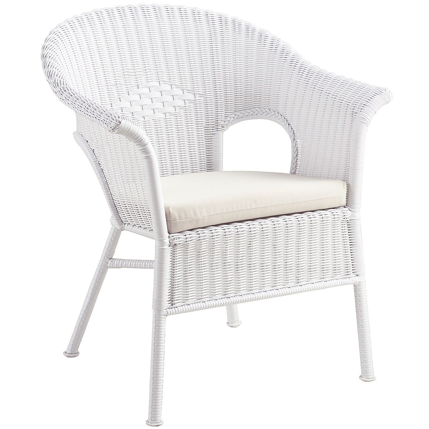 White Outside Chairs Captain For Center Console Boats Casbah Stacking Chair Outdoor Seating Wicker