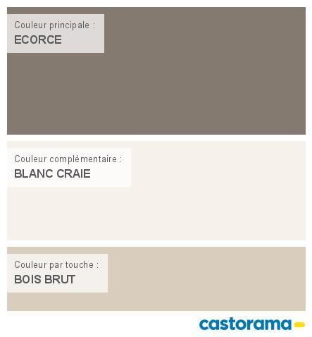 Castorama Nuancier Peinture - Mon harmonie Peinture ECORCE satin de ...