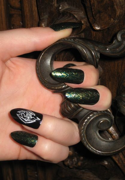 Nails Skyrim : nails, skyrim, Skyrim, Dragon, Nails,
