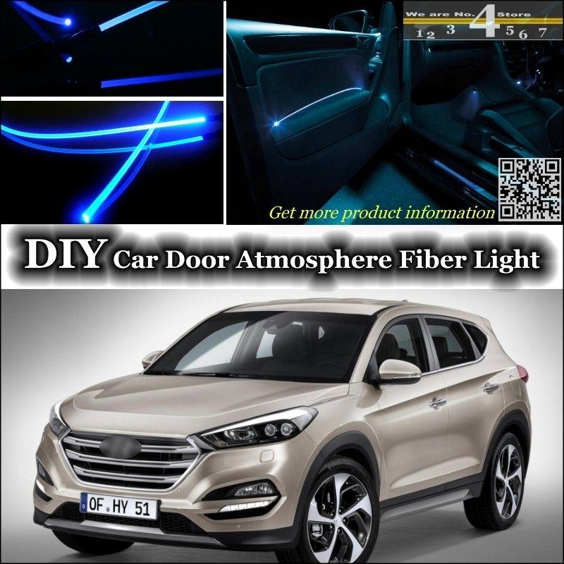 For Hyundai Tucson Interior Ambient Light Tuning Atmosphere Fiber