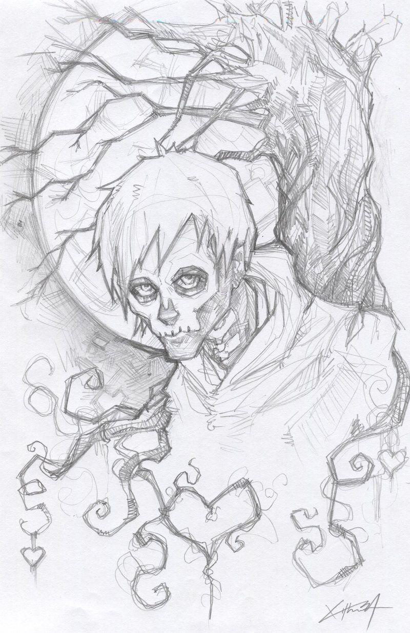 Hobo Heart Sketch Creepypasta by ChrisOzFulton.deviantart.com on @DeviantArt