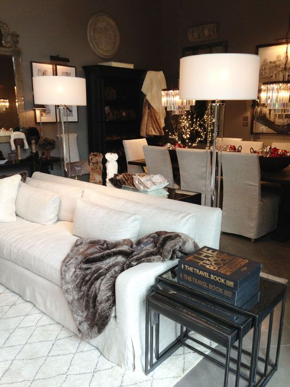 Pin By Little Rock On Casa Dolce Casa Restoration Hardware Store Home Decor Home Living Room