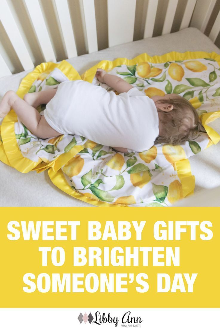 Yellow Lemons Baby Girl Blanket with Satin Ruffle This bright and cheerful lemon minky is perfect t