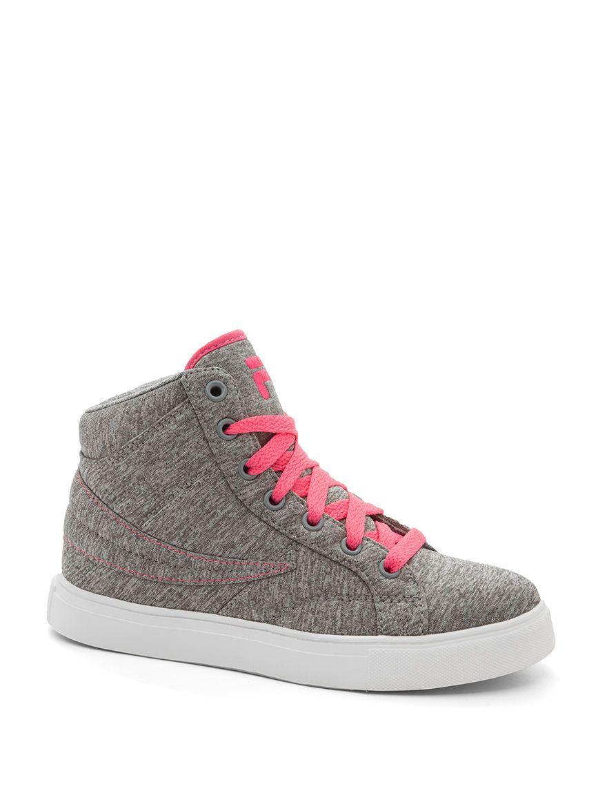 4e343a1c7aab FILA Smokescreen High-Top Sneakers - Girls 11-6