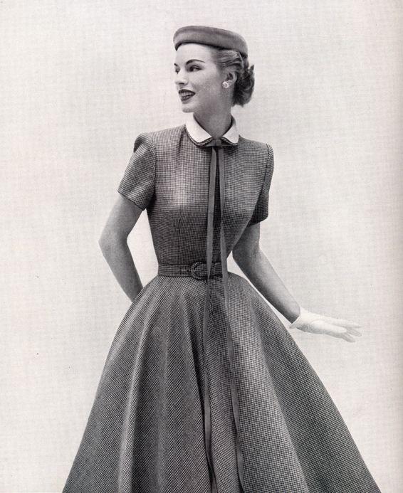 Выкройка платья в стиле нью-лук   Шкатулка   retro fashion ... 270b2ed3416