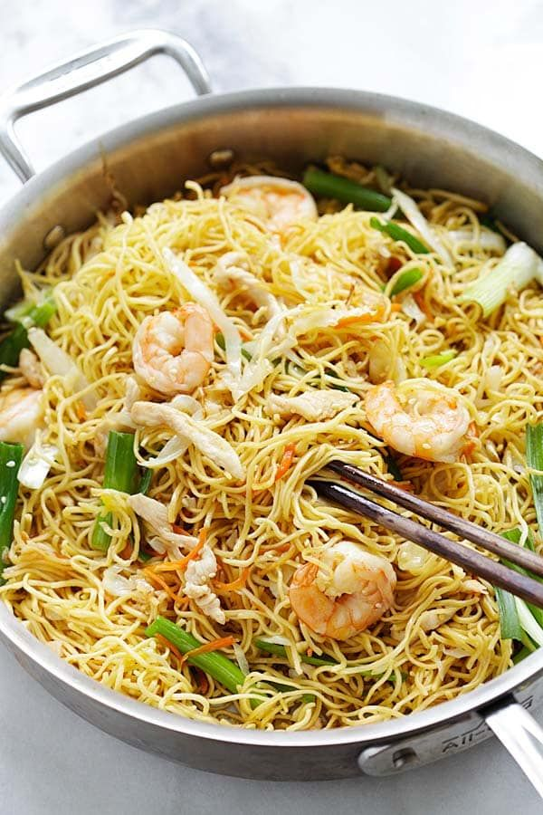 Chow mein recipe healthy chinese chow mein and noodle forumfinder Images