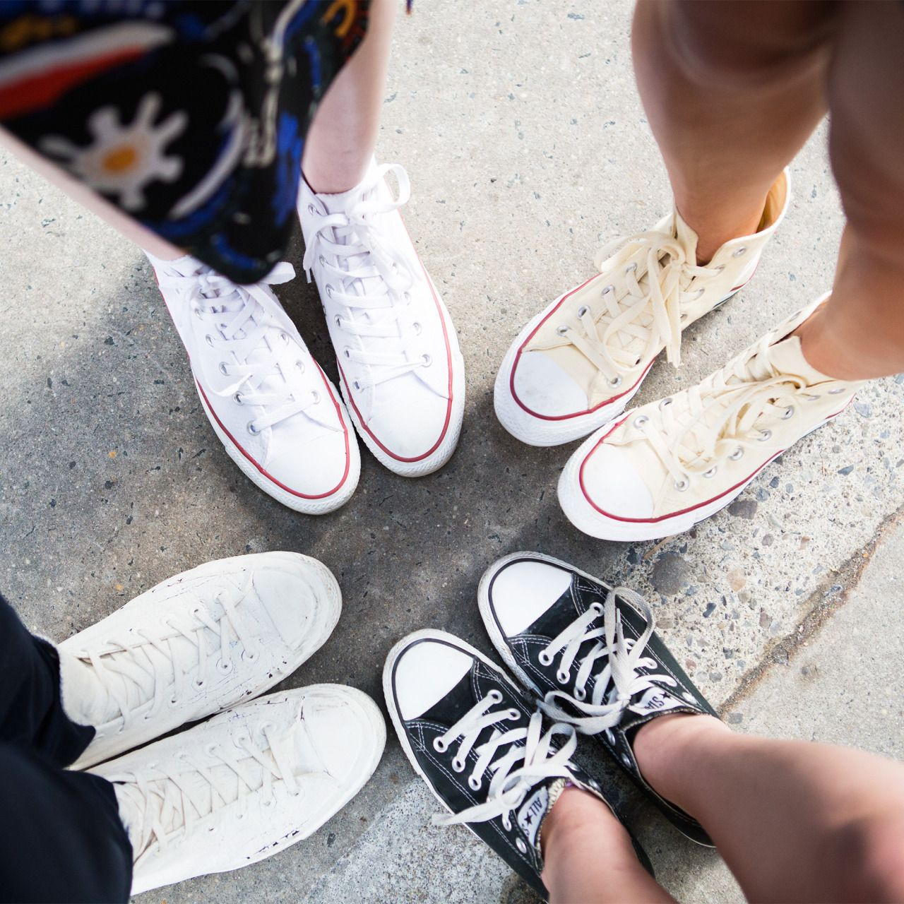 The takeaway here: InStyle staffers love their Converses