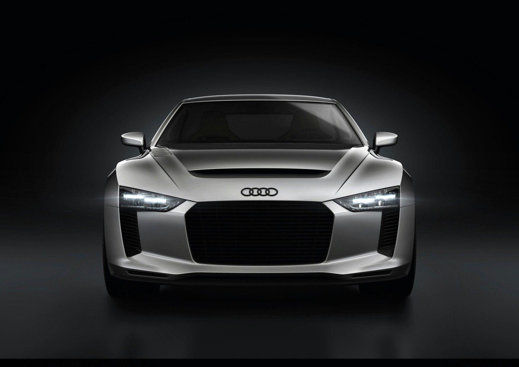 Audi quattro concept efficient LED headlights