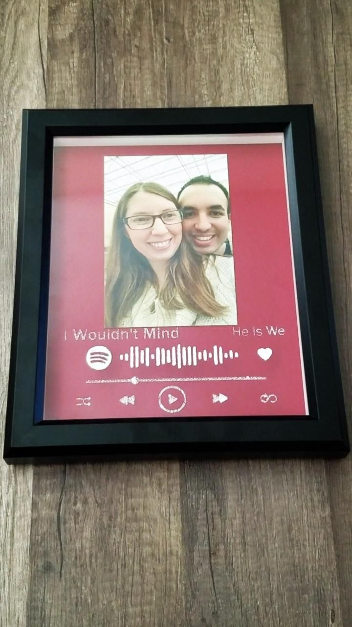 Spotify Photo Frame DIY