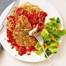 Quick Chicken Parmesan For Two Recipe Healthy Food Healthy Dinners And R