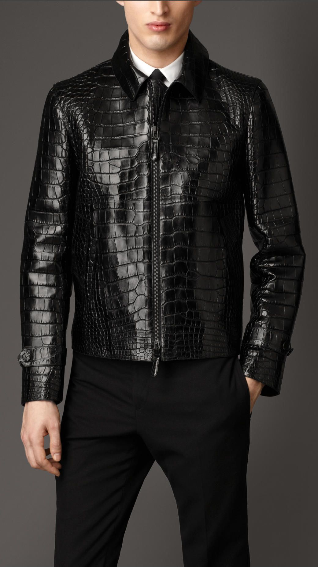 jacket brit mens burberry quilted gallery for product men black classic clothing lyst in quilt