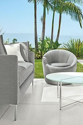 Miraculous Crest Swivel Chair Modern Outdoor Living Outdoor Chairs Pabps2019 Chair Design Images Pabps2019Com