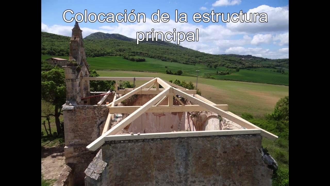 Resultado de imagen para techos de madera de cuatro aguas for Tejados de madera a 4 aguas