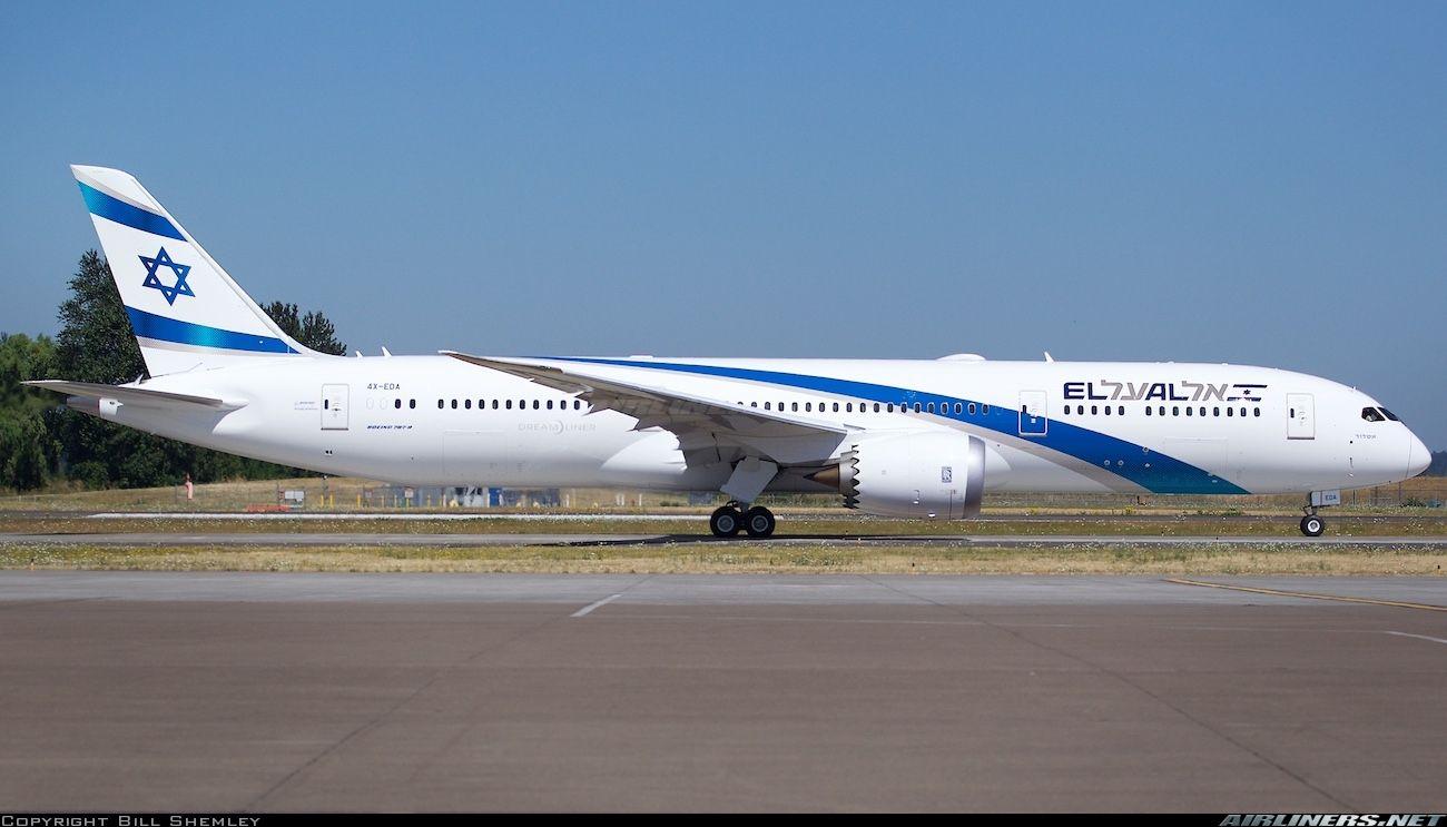 Boeing 787 9 Dreamliner El Al Israel Airlines Aviation Photo