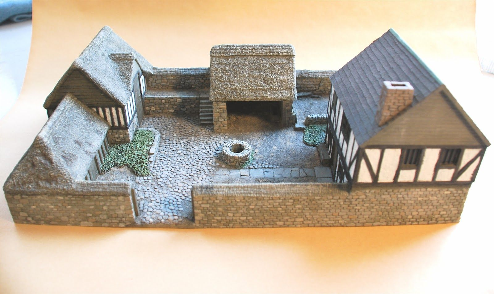 Medieval Farm House Fortified Homes Medieval Houses