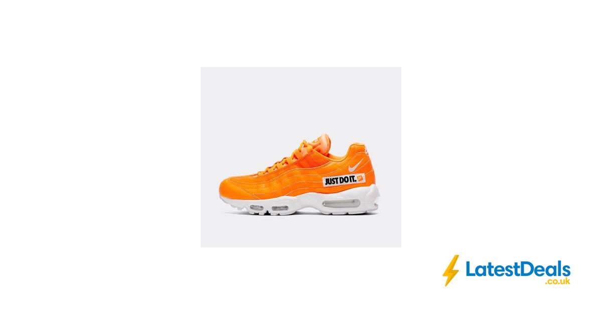 air max 95 se jdi black/black/white/total orange
