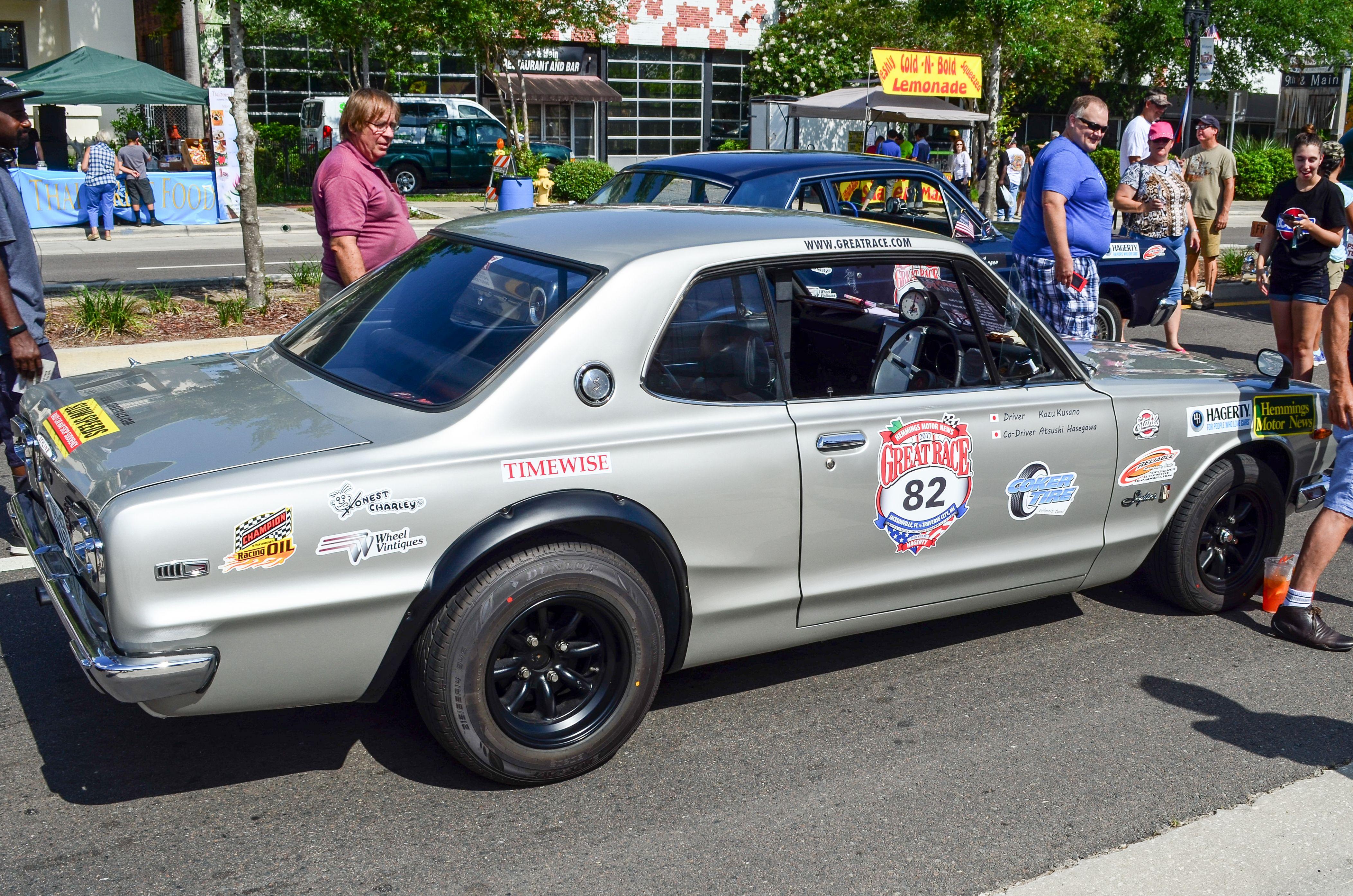 Nissan Skyline GTRGreat Race Jacksonville Florida Start - Cool cars jacksonville