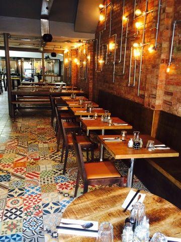 Fresh Restaurant Tile Flooring Ideas