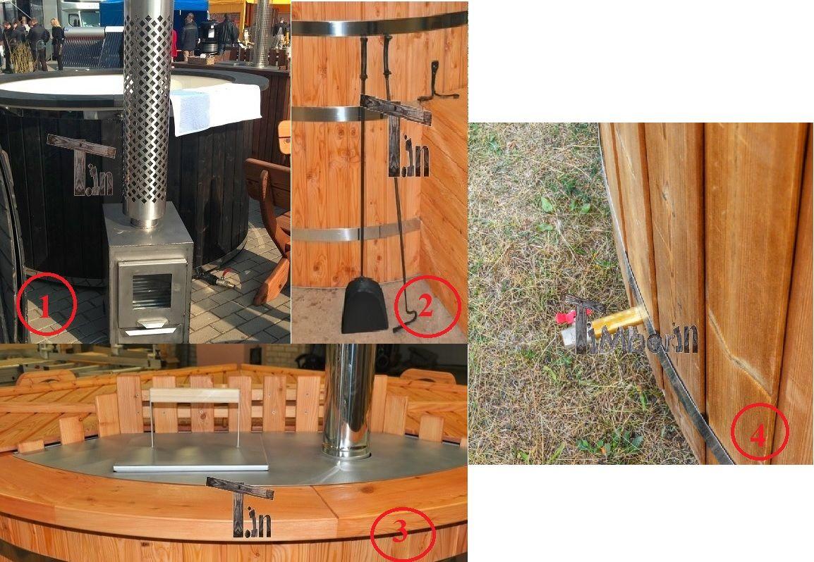 Costruisci il tuo modello personalizzato di vasca a tinozza riscaldata a legna