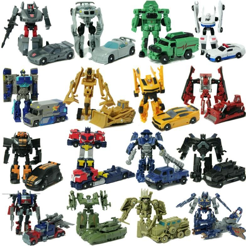 Hasbro Transformers toy can become to car children's ...