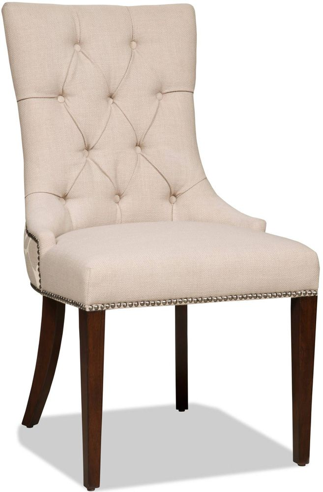 hooker furniture lindy linen dining chair dining chairs