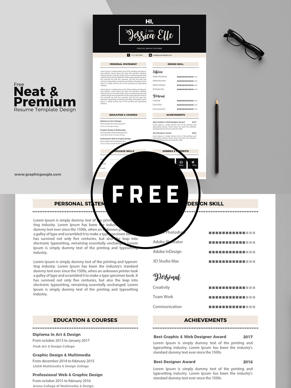 98 awesome free resume templates in this post are made by